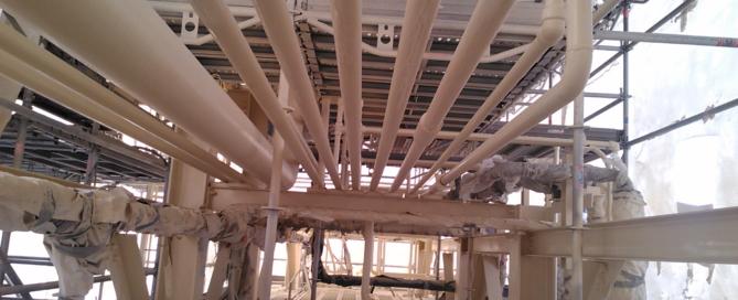 Entretien de racks industriels