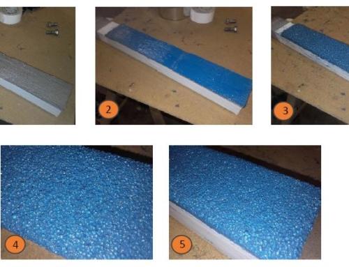 Protection d'un bras de déviation de particules de verre