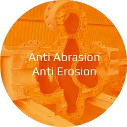 Solution anti-abrasion anti-erosion