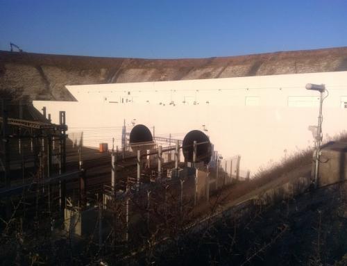 Murs portails des tunnels de transport